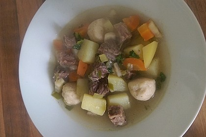 Kartoffel - Rindfleisch - Suppe 3
