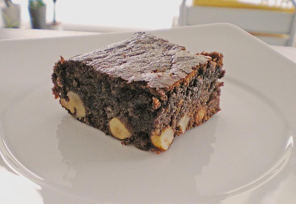 Schokolade Nuss Brownie Ein Raffiniertes Rezept Chefkoch De