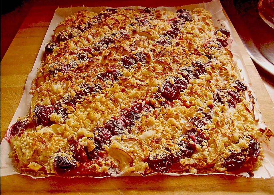 Apfel Pflaumen Kuchen Von Irinka01 Chefkoch De
