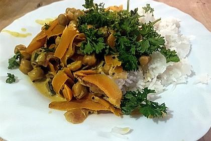 Kichererbsen-Karotten-Curry (Bild)