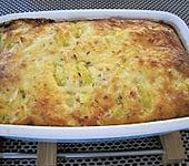 Kartoffel-Apfel-Auflauf mit Camembert (Bild)