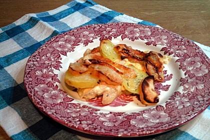 Kartoffel-Apfel-Auflauf mit Camembert 18