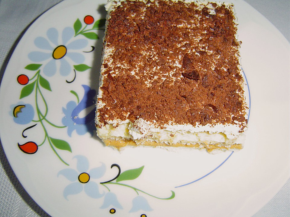 Butterkeks Karamell Cremeschnitten Von Brisane Chefkoch De