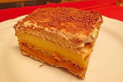 Butterkeks - Karamell Cremeschnitten (Bild)