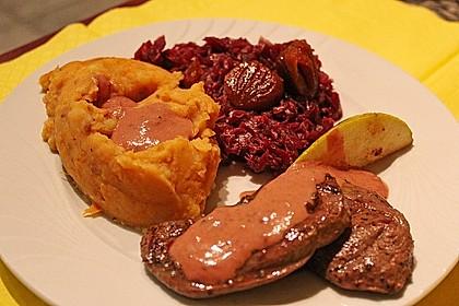 Rehschnitzel an Portweinsauce 2