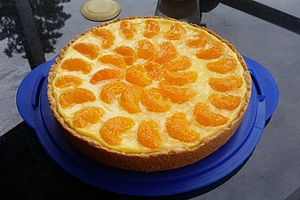 Schmand - Pudding - Mandarinen - Torte 11