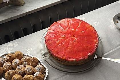 Schmand - Pudding - Mandarinen - Torte 30