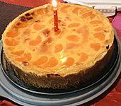 Schmand - Pudding - Mandarinen - Torte (Bild)