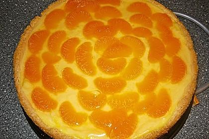 Schmand - Pudding - Mandarinen - Torte 16