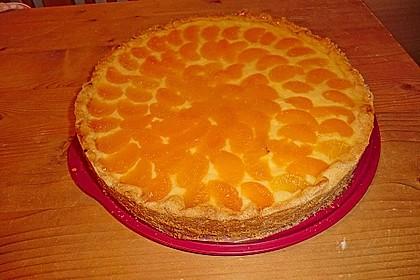 Schmand - Pudding - Mandarinen - Torte 26