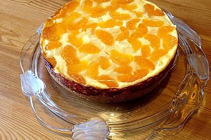 Schmand - Pudding - Mandarinen - Torte 33