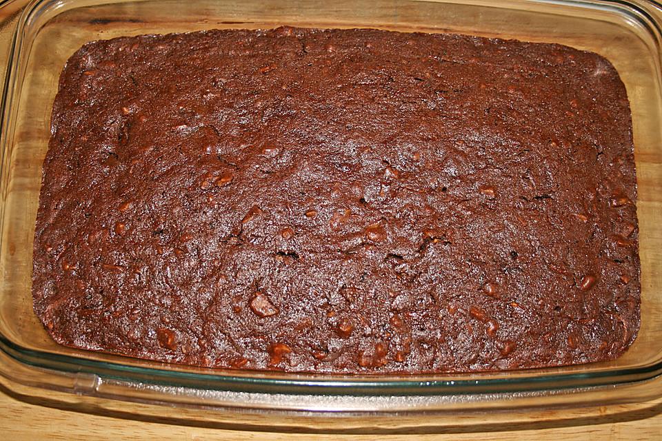 Sagenhafte Brownies Mit Zucchini Von Knusperflocken Chefkoch De