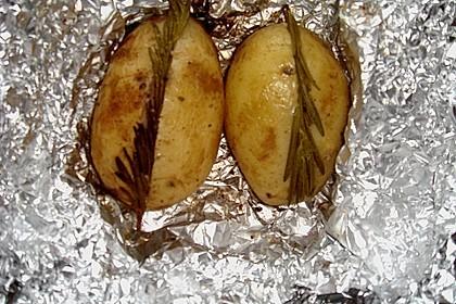 Rosmarin - Folienkartoffeln