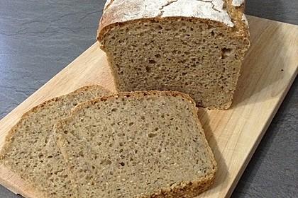 Rustikales Brot im Bräter 134