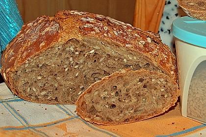 Rustikales Brot im Bräter 59
