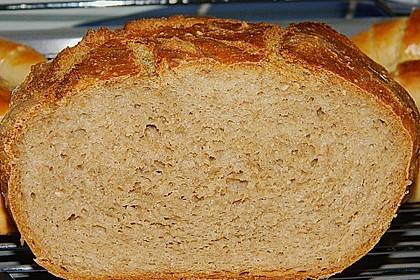 Rustikales Brot im Bräter 19