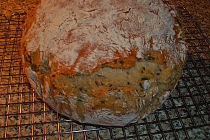 Rustikales Brot im Bräter 147