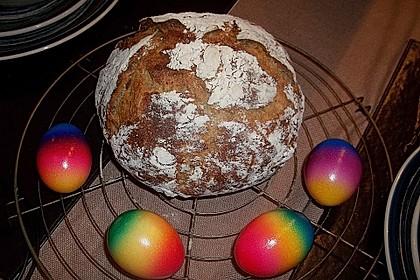 Rustikales Brot im Bräter 80