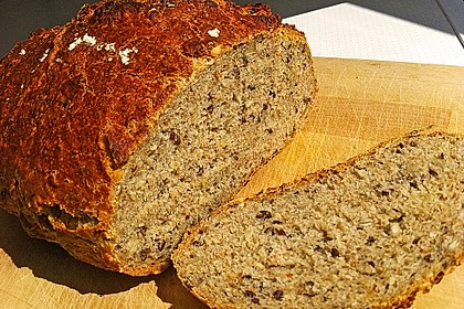 Rustikales Brot im Bräter 81