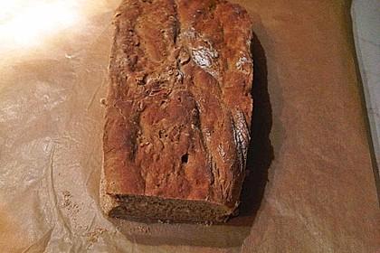 Rustikales Brot im Bräter 128