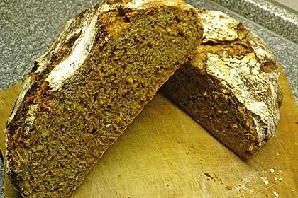 Rustikales Brot im Bräter 62