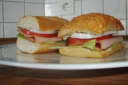Fleischkäse - Sandwich