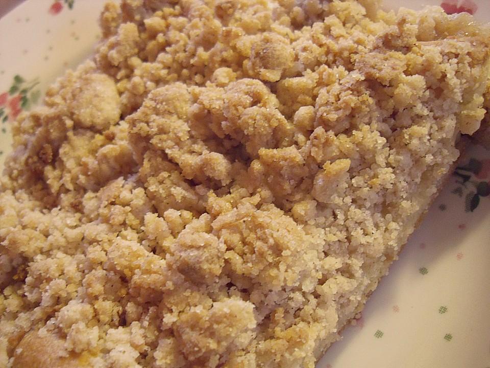 Apfel Streuselkuchen Vom Blech Von Petraf Chefkoch De