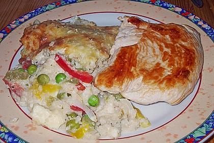 Couscous - Gemüse Auflauf