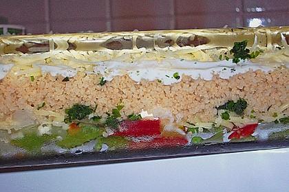Couscous - Gemüse Auflauf 3