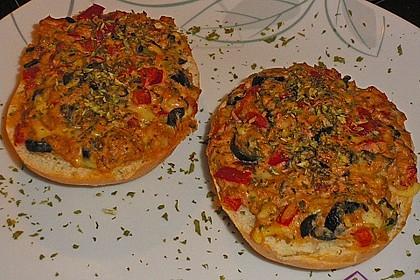 Thunfisch - Pizzabrötchen