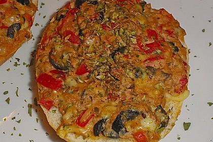 Thunfisch - Pizzabrötchen 1