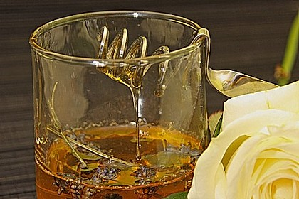 Lavendelhonig oder Rosenblütenhonig 1