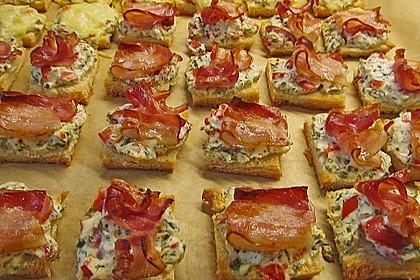 Bacon-Tomaten-Frischkäsehäppchen 7