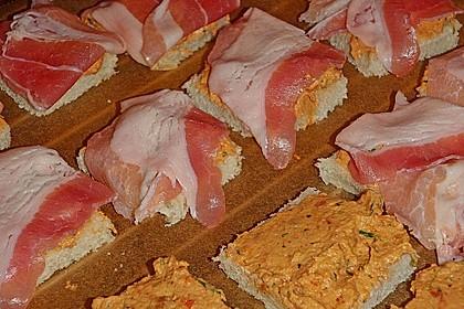 Bacon-Tomaten-Frischkäsehäppchen 34