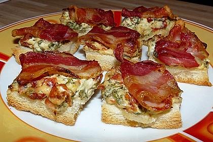 Bacon-Tomaten-Frischkäsehäppchen 4