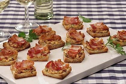 Bacon-Tomaten-Frischkäsehäppchen 1