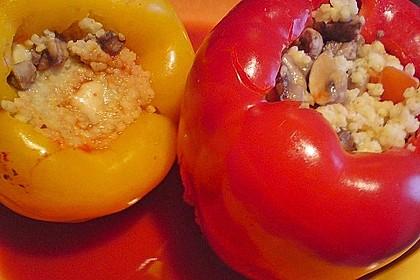 Vegetarisch gefüllte Paprikaschoten 5