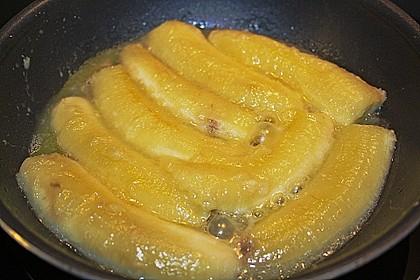 Gebackene Kokos - Banane 16