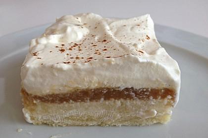 Apfelmus - Schmand Kuchen 1