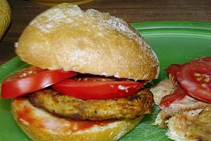 Schneller Studenten - Chickenburger (Bild)