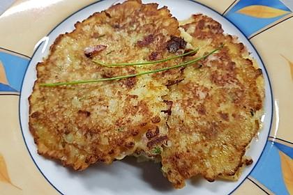 Sächsische Kartoffeleierkuchen - pikant