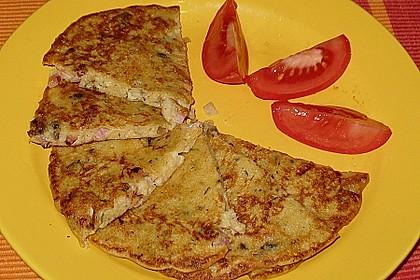 Sächsische Kartoffeleierkuchen - pikant 1