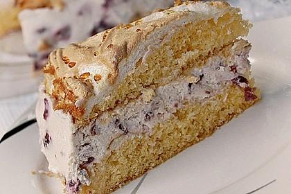 Amarena - Torte mit Baiser