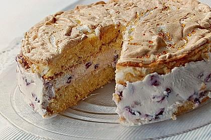 Amarena - Torte mit Baiser 1