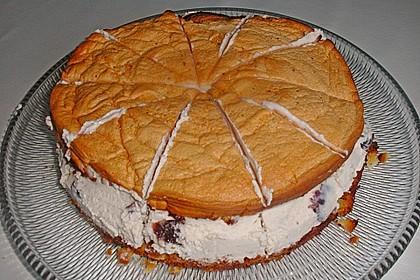 Amarena - Torte mit Baiser 2