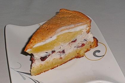 Amarena - Torte mit Baiser 3