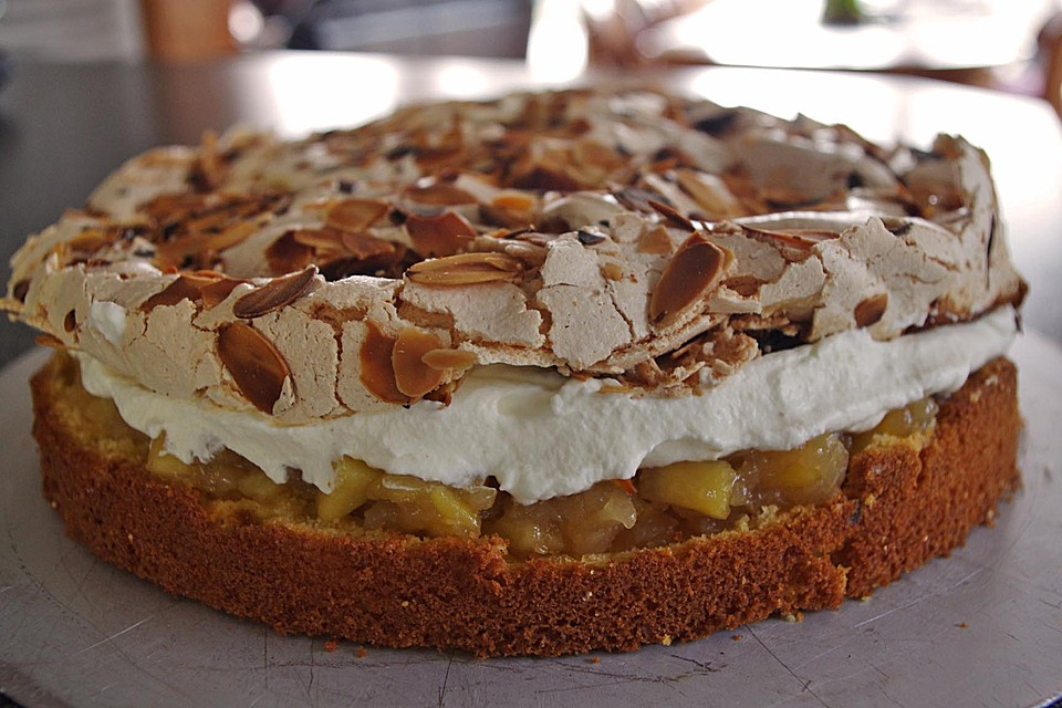 Apfel Baiser Torte Von Hilda Chefkoch De