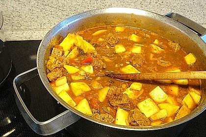 mangobears afrikanisches Gulasch mit Mangos 3