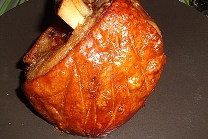 Gegrillte Schweinehaxe 4