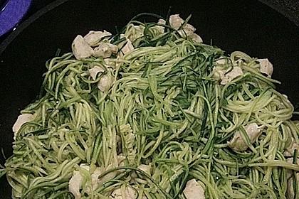 Zucchini - Kokos - Spaghetti (Bild)